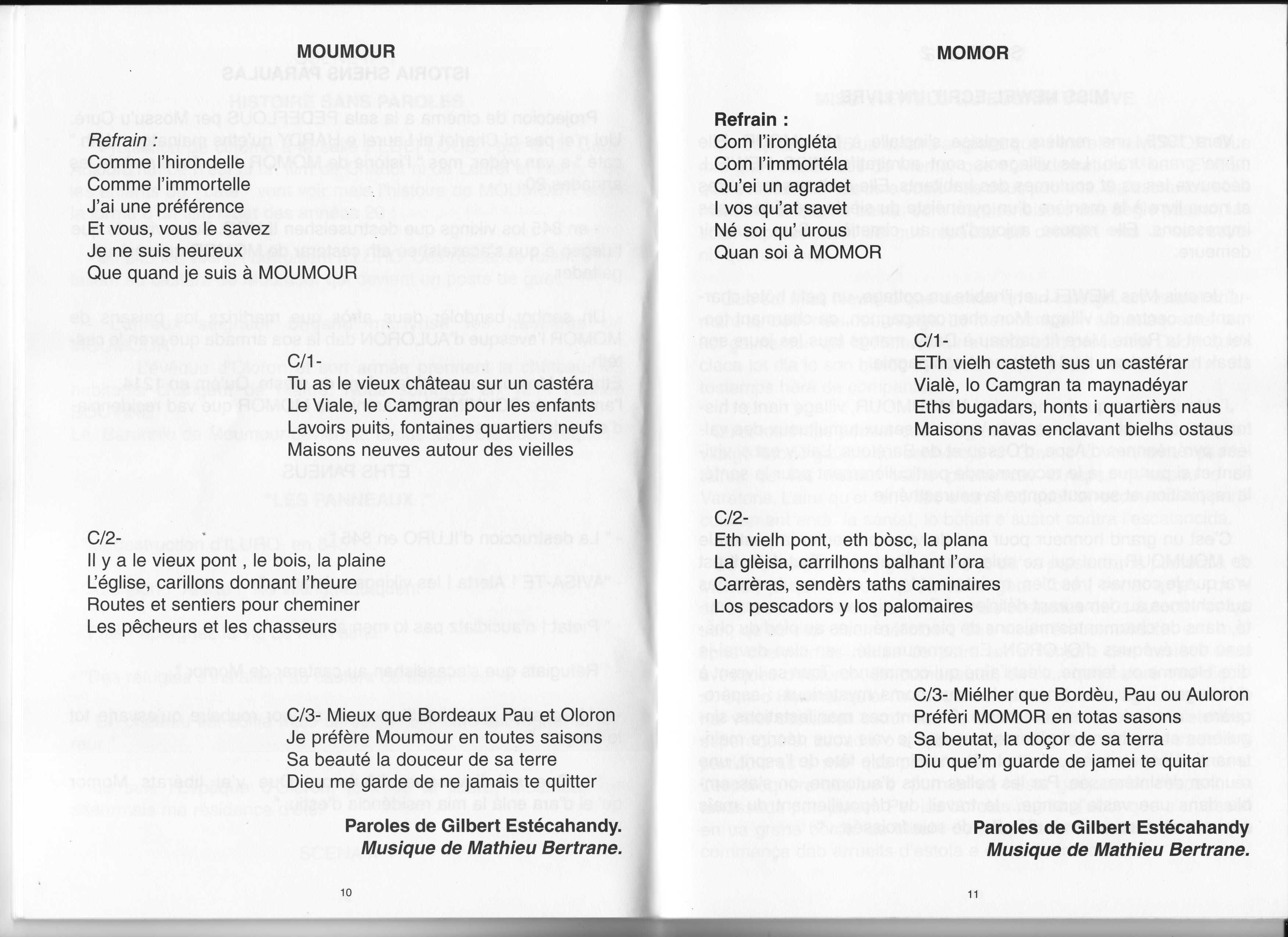 Moumour chant